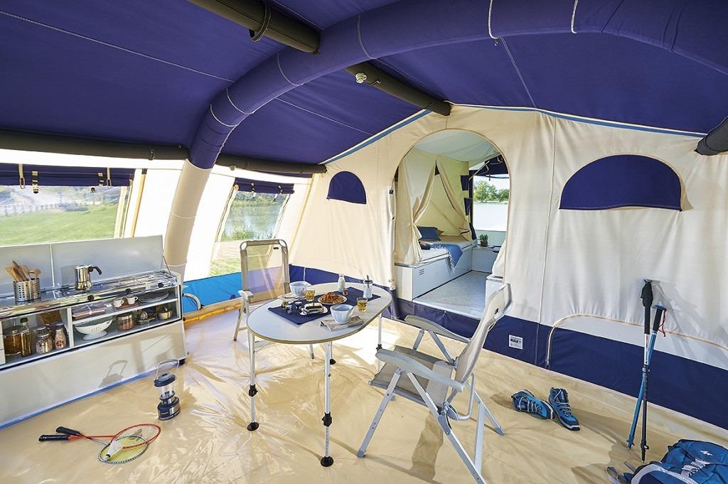 Vouwwagen Jamet Air - luxe ruime voortent
