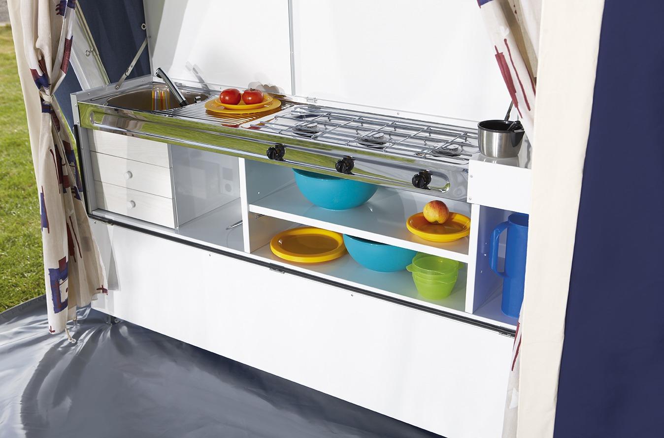 Jamet Vouwwagen Arizona - luxe keuken