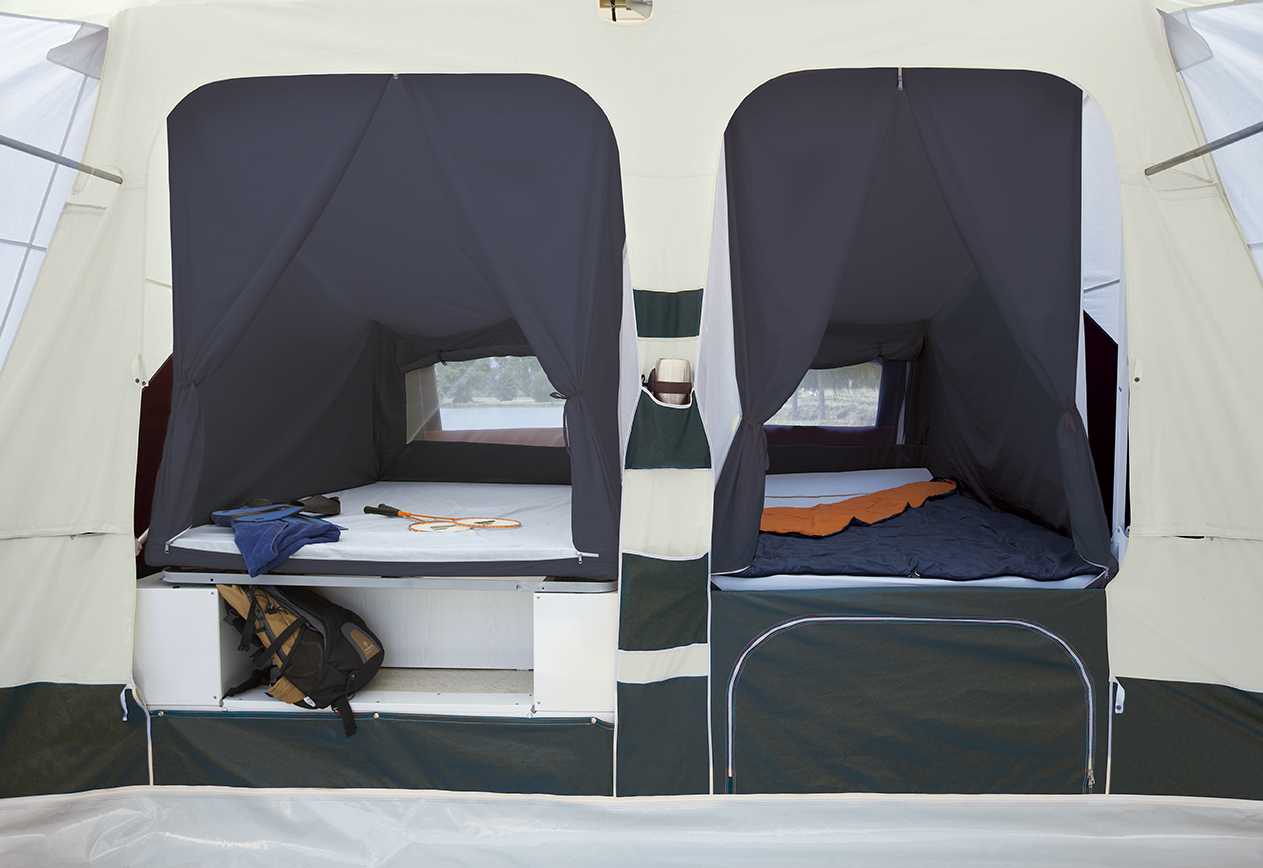 Vouwwagen Jametic Outdoor - interieur