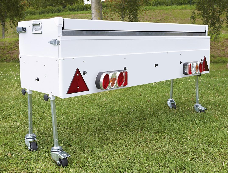 Vouwwagen optie op Jamet - keuken met wielen