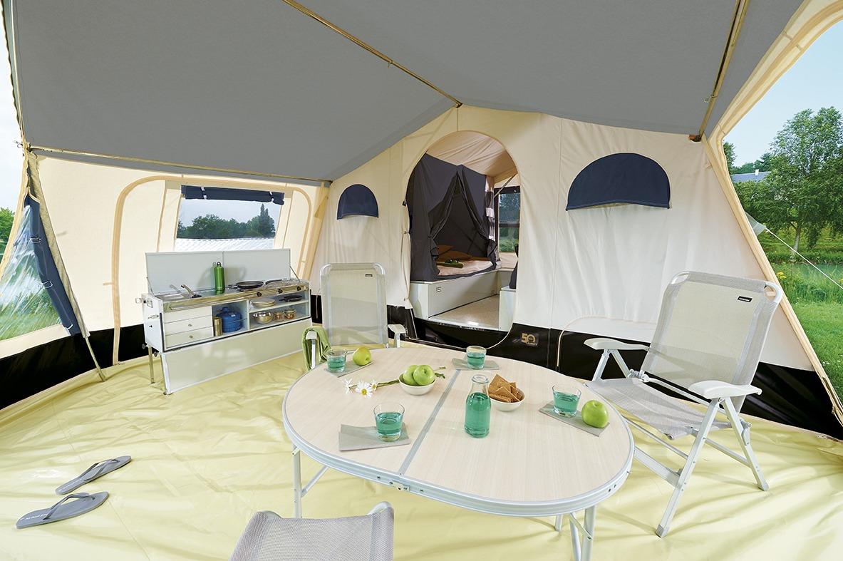 Vouwwagen Jamet Dakota - luxe en ruime voortent