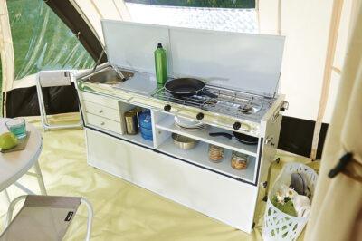 Vouwwagen Jamet Dakota - luxe keuken