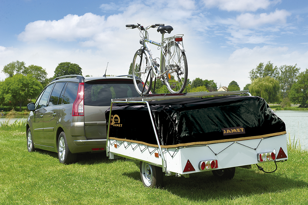 Vouwwagen Jamet Panorama - met imperial voor fietsen
