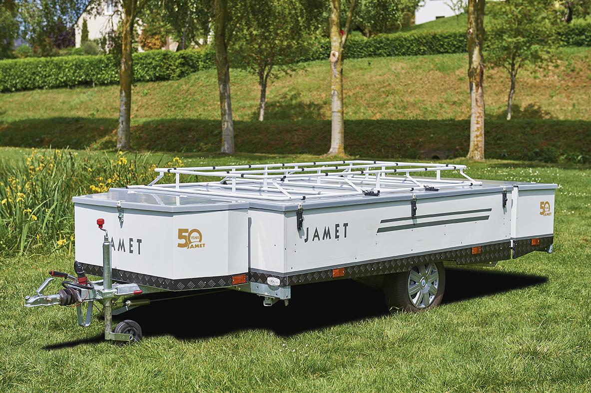Vouwwagen Jamet Arizona - eenvoudig opzetsysteem