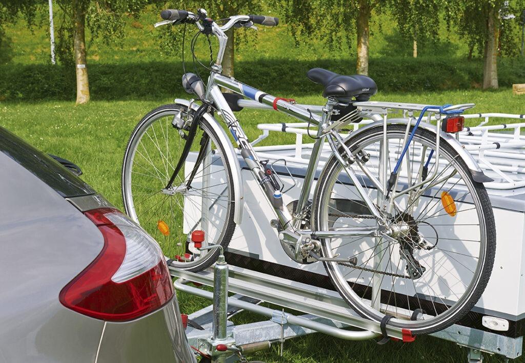 Vouwwagen Jamet Arizona met fietsendrager