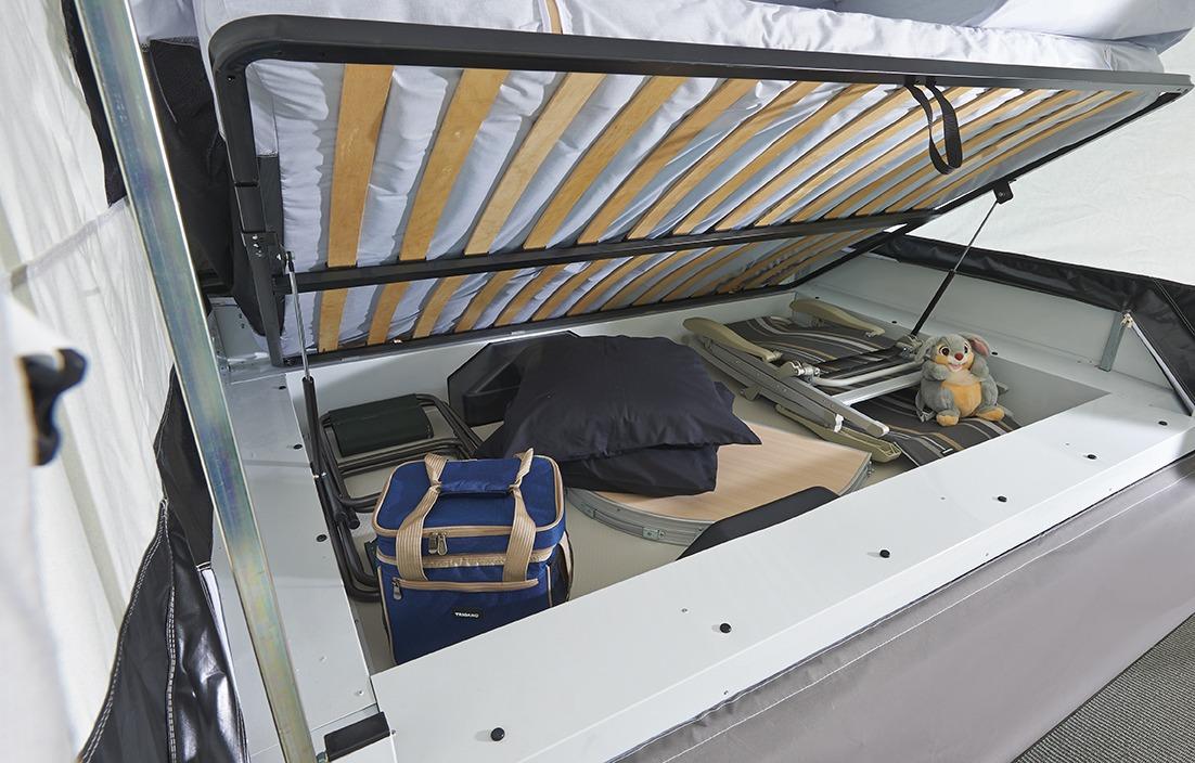 Vouwwagen Jamet Arizona - easy access bagage systeem