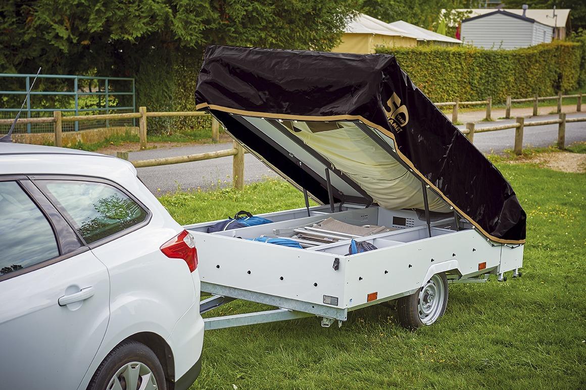 Vouwwagen Jamet Dakota met easy access bagage systeem