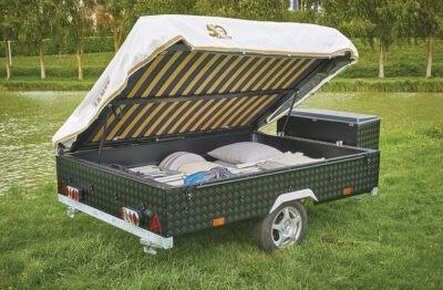 Vouwwagen Jamet Easy - easy access bagage systeem