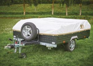 Vouwwagen Jamet Easy met reservewiel