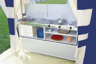 Vouwwagen Jamet Panorama - luxe keuken