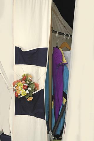 Vouwwagen Jamet Panorama - kledingrek
