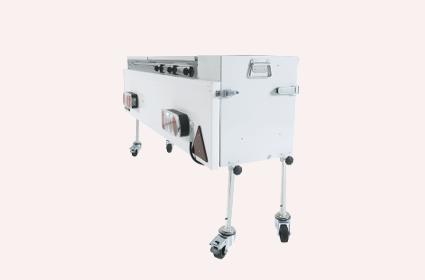 Keukenblok op wielen vouwwagen accessoire