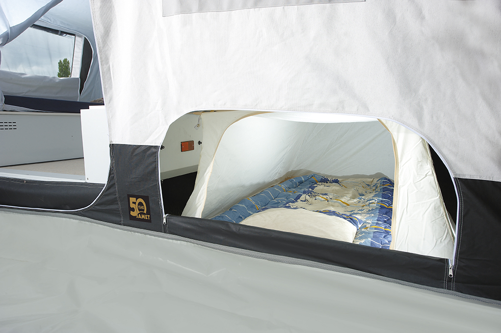 Vouwwagen Jamet Panorama - ondertent voor extra slaapplaatsen