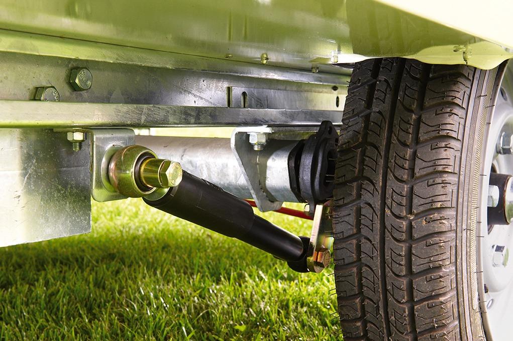 Vouwwagen Jamet Air met schokbrekers voor 100km p/uur