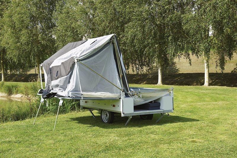 Vouwwagen opzetsysteem Jamet Arizona en Dakota - snel en gemakkelijk