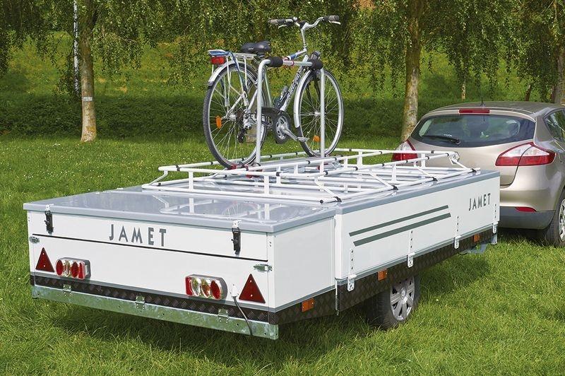 Jamet vouwwagen met imperial voor fiets