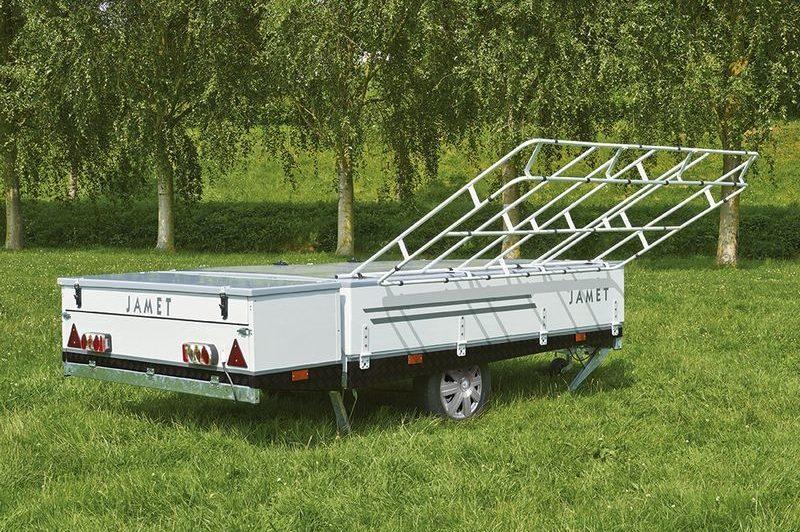 Opzet systeem Jamet Jameta vouwwagen