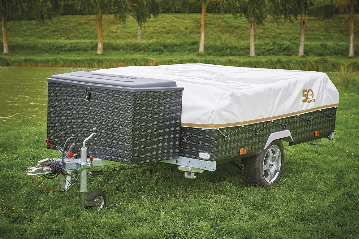 Vouwwagen Jamet Easy met disselbak