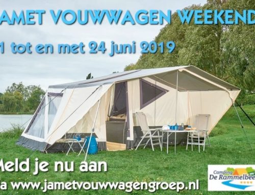 Jamet Vouwwagen Weekend